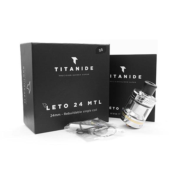 Leto MTL RTA 24mm Titanide vapexperts 2