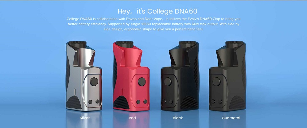 college dna60 box mod 18650 by dovpo 2