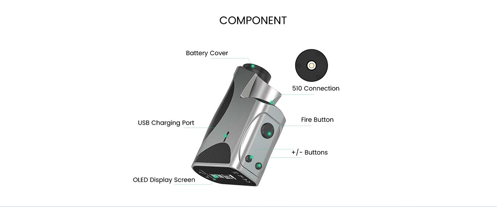 college dna60 box mod 18650 by dovpo 6